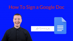 How To Sign a Google Doc