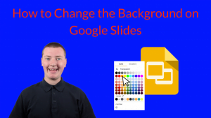 How to Change the Background on Google Slides