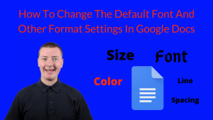 How To Change Default Font In