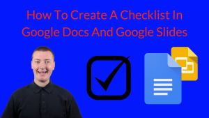 How To Create A Checklist In Google Docs And Google Slides