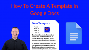 How To Create A Template In Google Docs
