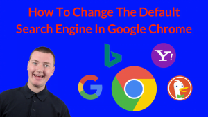 how to change default search engine on chrome
