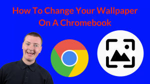how to change wallpaper on chromebook