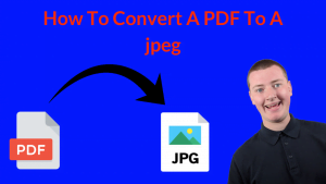 how to convert a pdf to jpeg